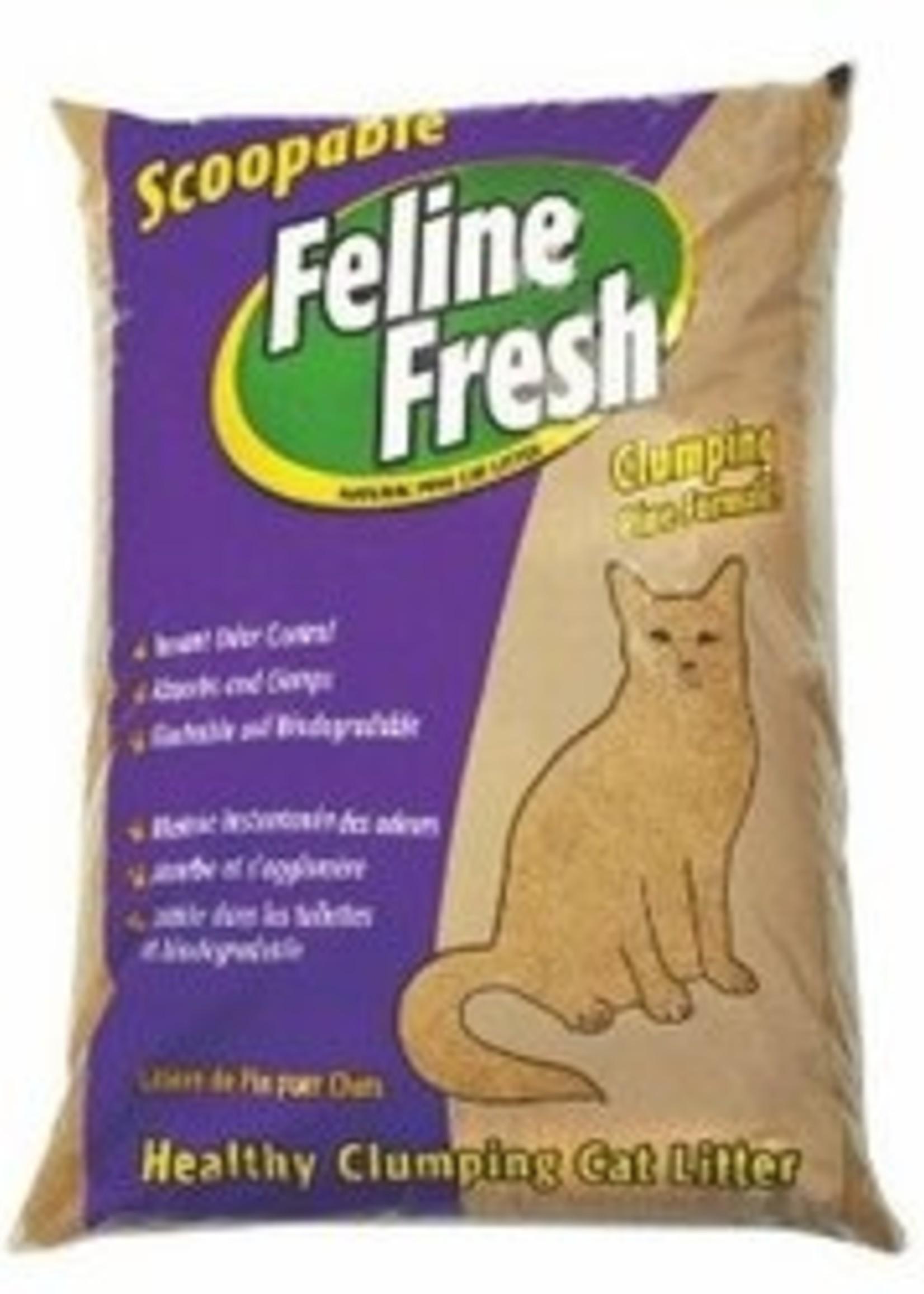 Feline Fresh® Clumping Pine Litter 34lbs