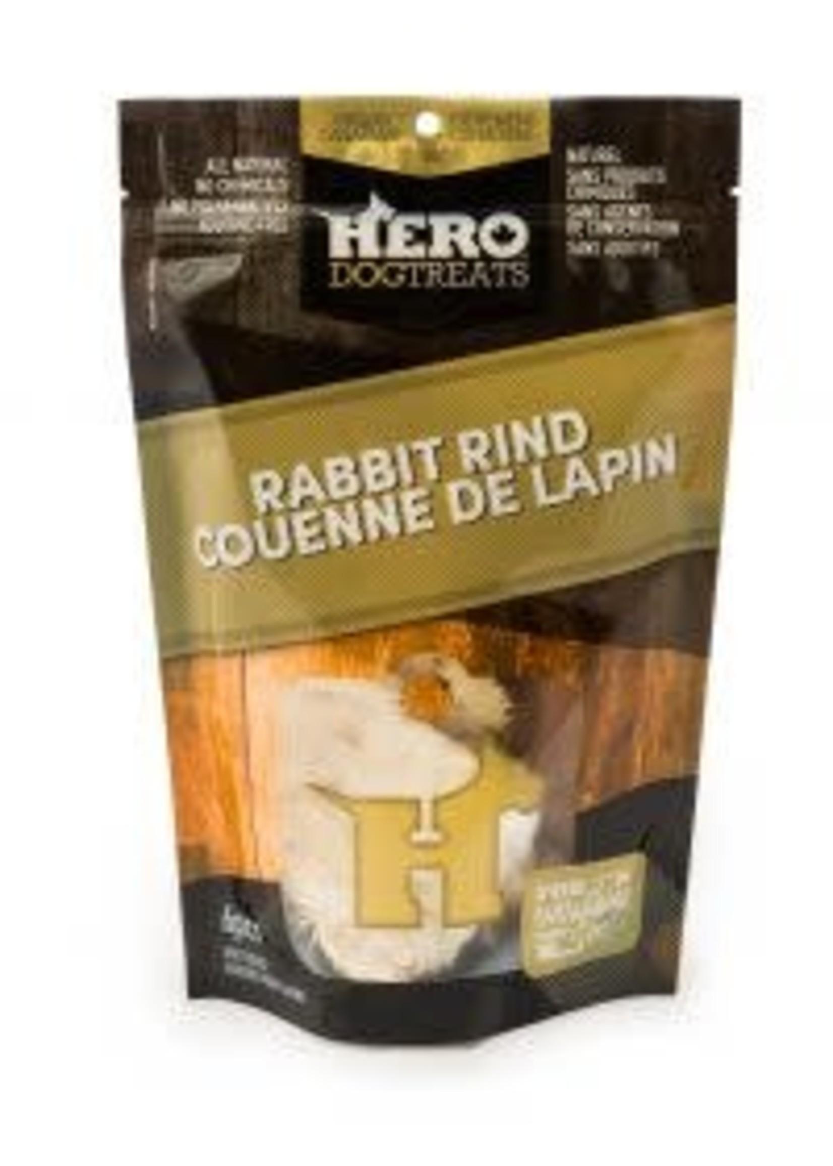 HeroDogTreats™ Hero Dog Treats Dehydrated Rabbit Rind 6pcs