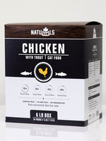NatuRAWls CHICKEN w/TROUT 2pK (1/2lb)