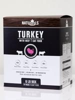 NatuRAWls TURKEY w/BEEF 2pK (1/2lb)