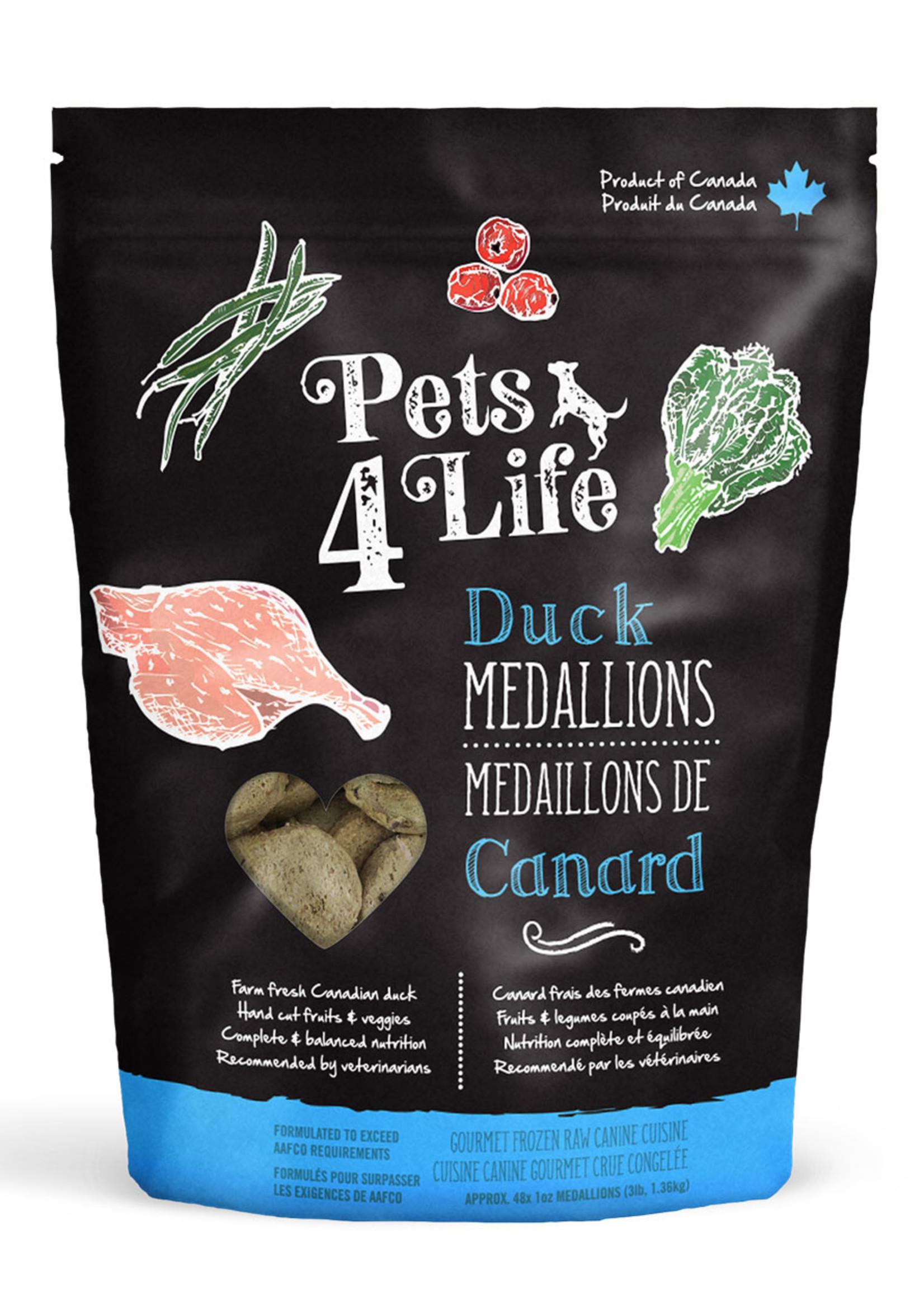 Pets4Life Pets4Life Duck Medallions 3lbs