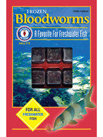 SAN FRANCISCO BAY FROZEN BLOODWORMS CUBE 3.5oz (30x)