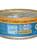Natural Balance® L.I.D. INDOOR TURKEY & TURKEY LIVER 5.5oz