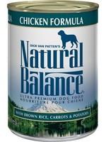 Natural Balance® CHICKEN w/BROWN RICE, CARROTS & POTATOES 13oz