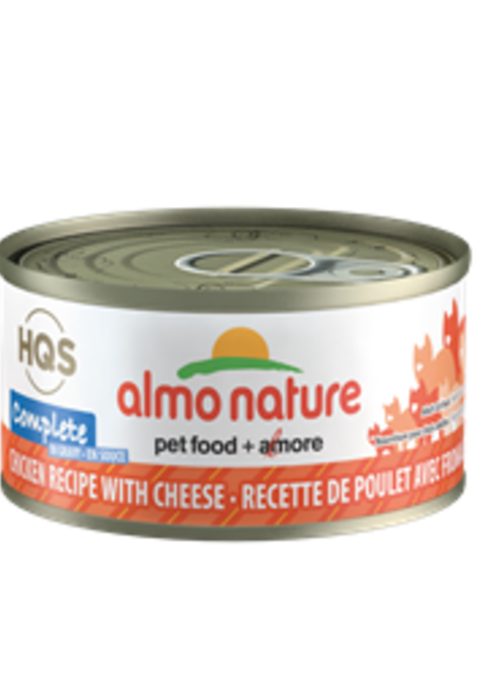 Almo Nature© Almo Nature HQS Complete Chicken Recipe with Cheese in Gravy 70g
