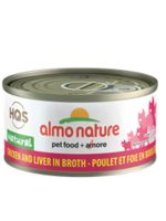 Almo Nature© HQS Natural Chicken and Liver in Broth 70g