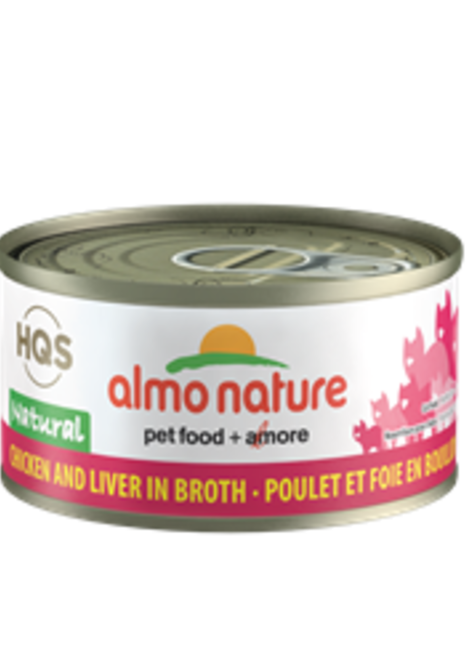 Almo Nature© Almo Nature HQS Natural Chicken and Liver in Broth 70g