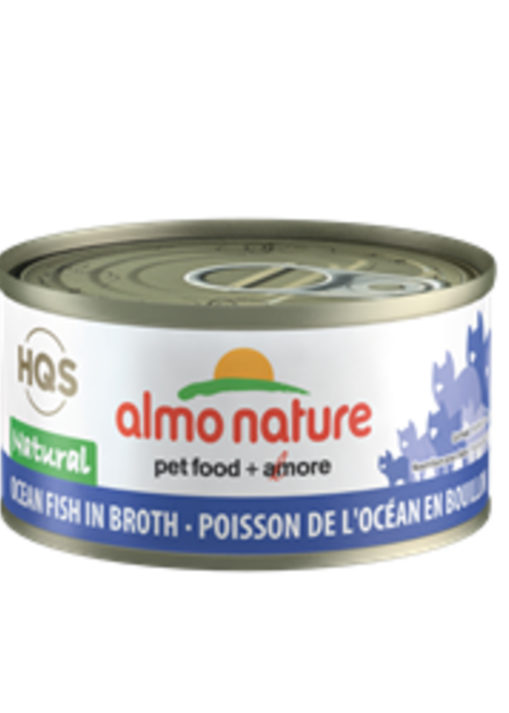 Almo Nature© Almo Nature HQS Natural Ocean Fish in Broth 70g