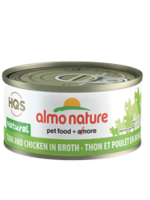 Almo Nature© HQS Natural Tuna and Chicken in Broth 70g