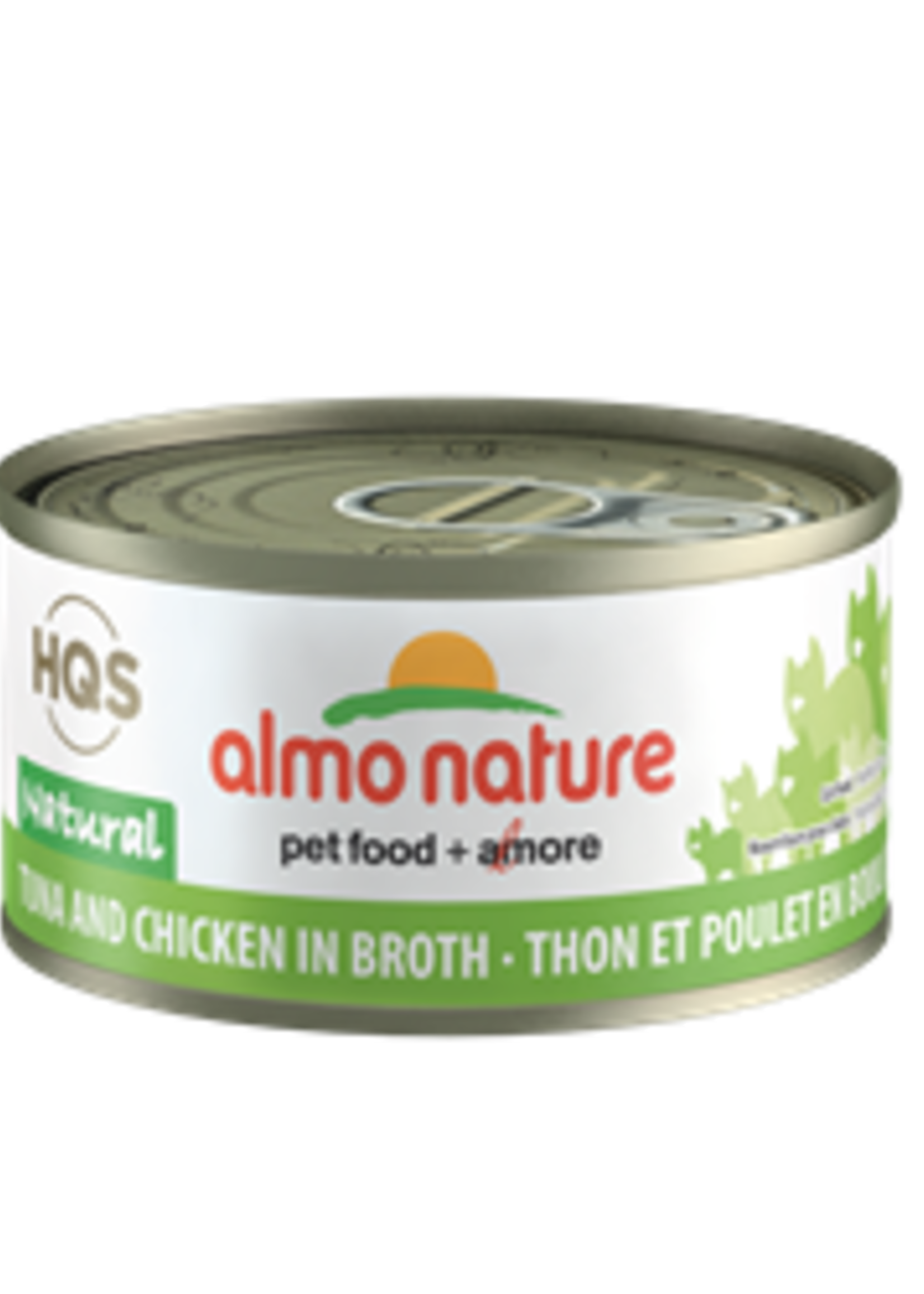 Almo Nature© Almo Nature HQS Natural Tuna and Chicken in Broth 70g