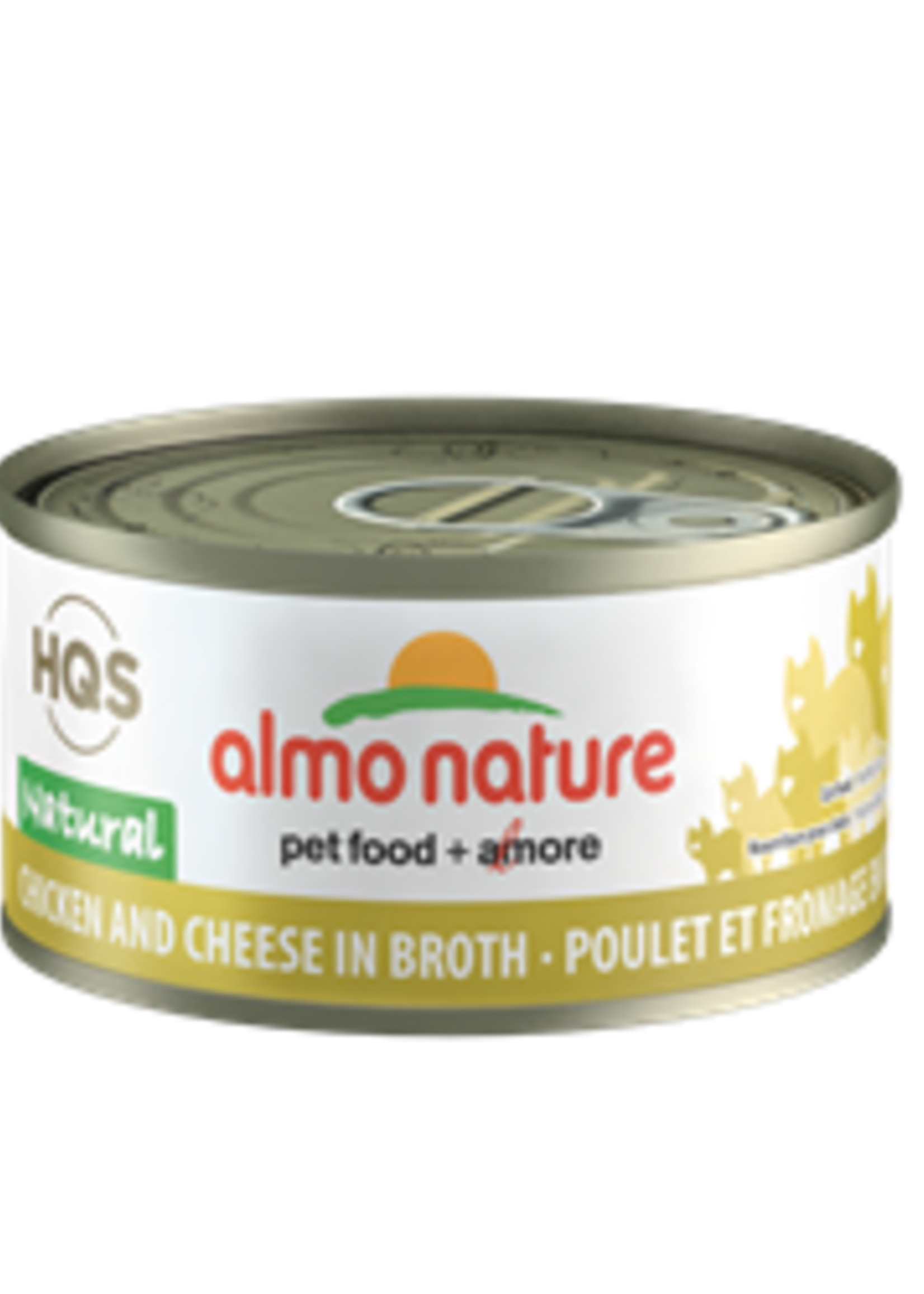 Almo Nature© Almo Nature HQS Natural Chicken and Cheese in Broth 70g