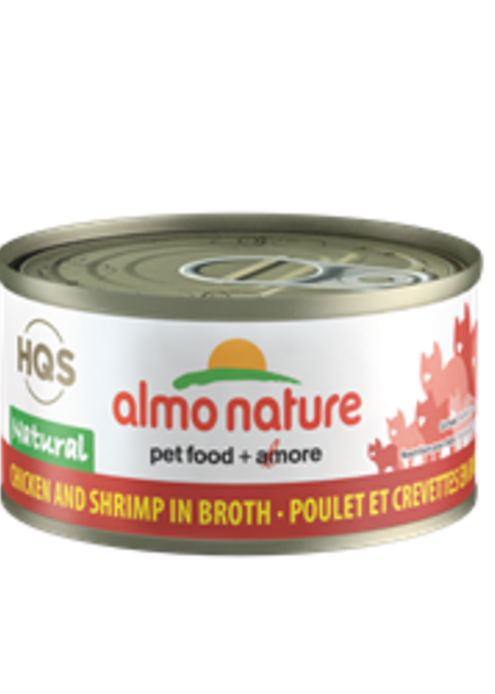 Almo Nature© Almo Nature HQS Natural Chicken and Shrimp in Broth 70g
