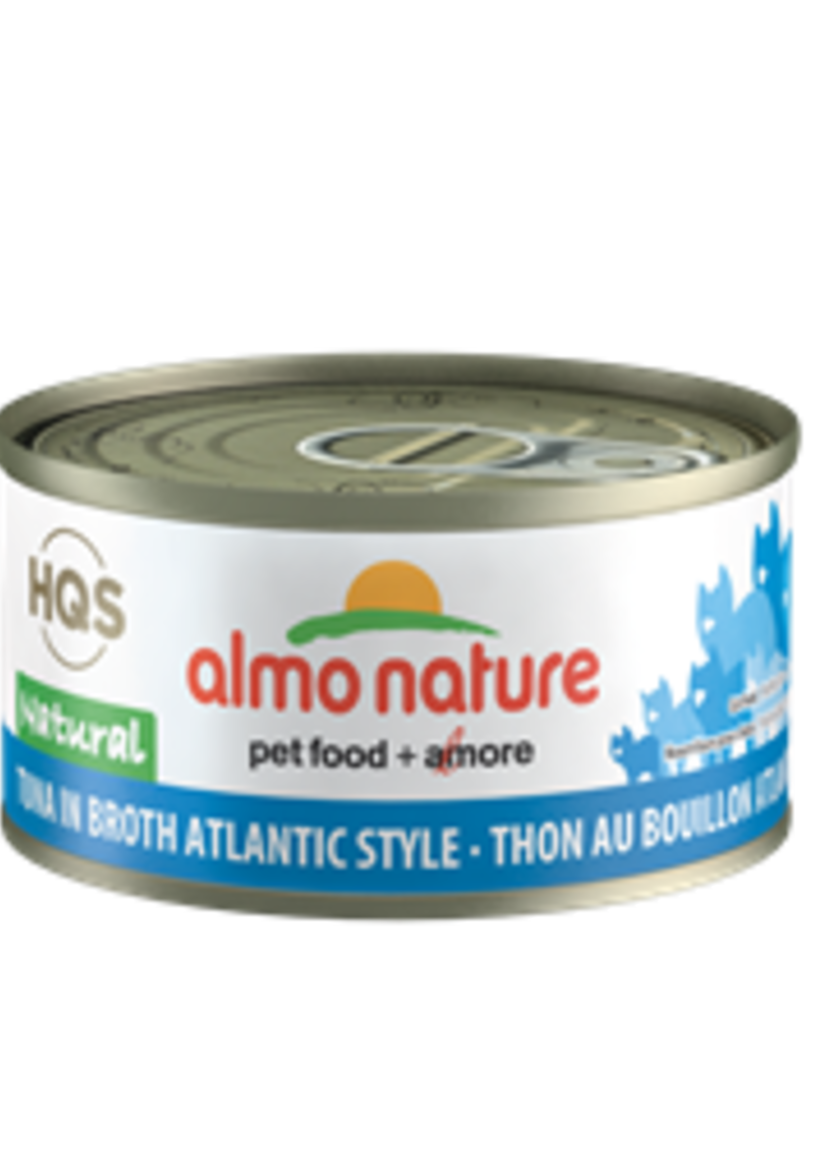 Almo Nature© Almo Nature HQS Natural Tuna in Broth Atlantic Style 70g