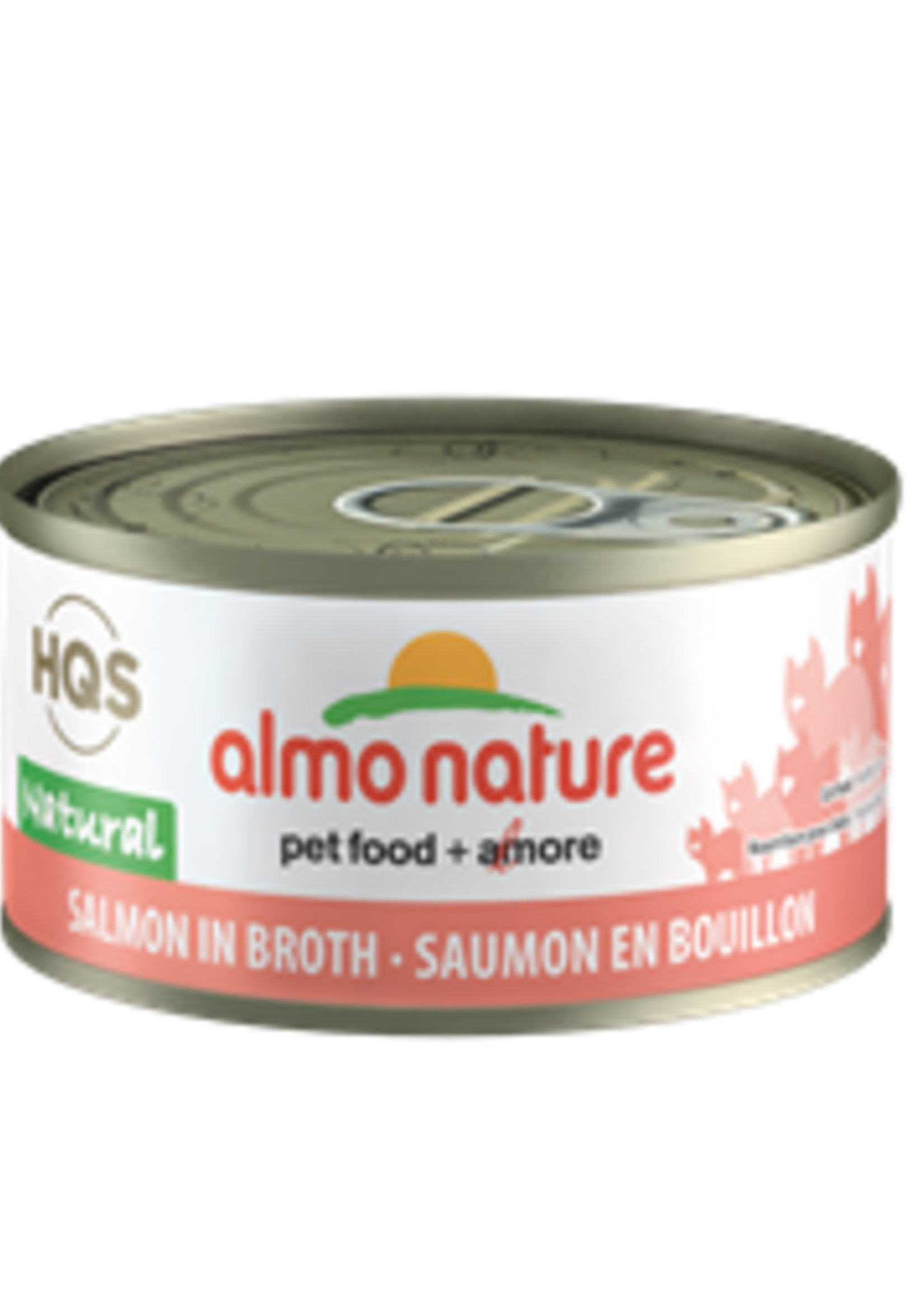 Almo Nature© Almo Nature HQS Natural Salmon in Broth 70g
