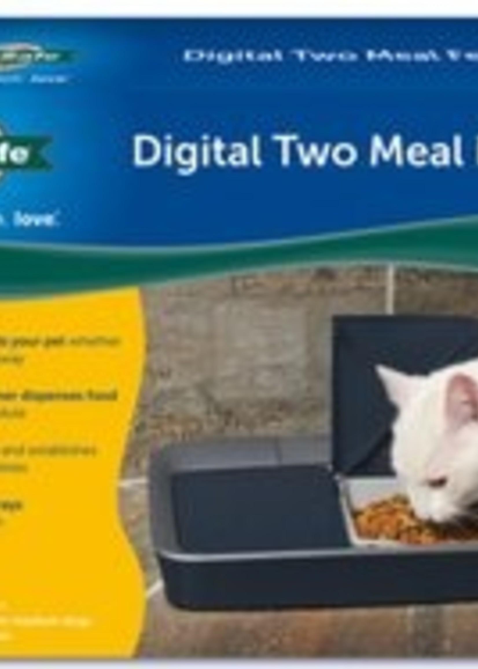 PetSafe® PETSAFE DIGITAL TWO MEAL PET FEEDER (SML TO MED)