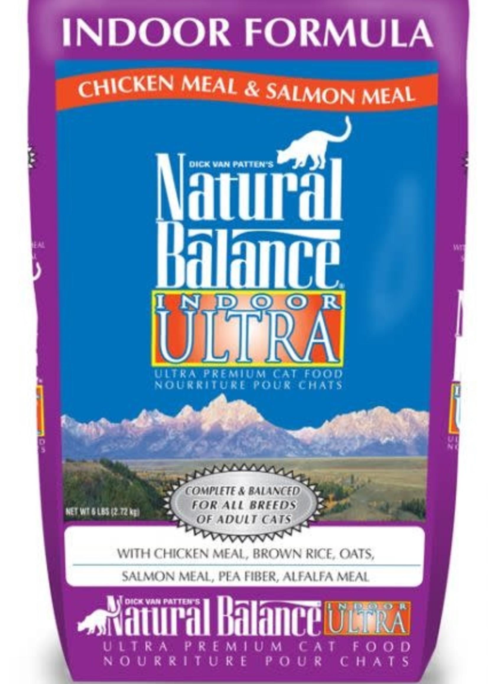 Natural Balance® NATURAL BALANCE INDOOR ULTRA CHICKEN &S ALMON MEAL FORMULA 15lbs
