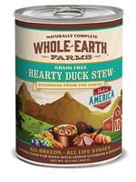 Merrick® WHOLE EARTH FARMS GF HEARTY DUCK STEW 13oz