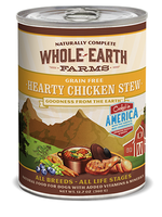 MERRICK WHOLE EARTH FARMS GF HEARTY CHICKEN STEW 13oz