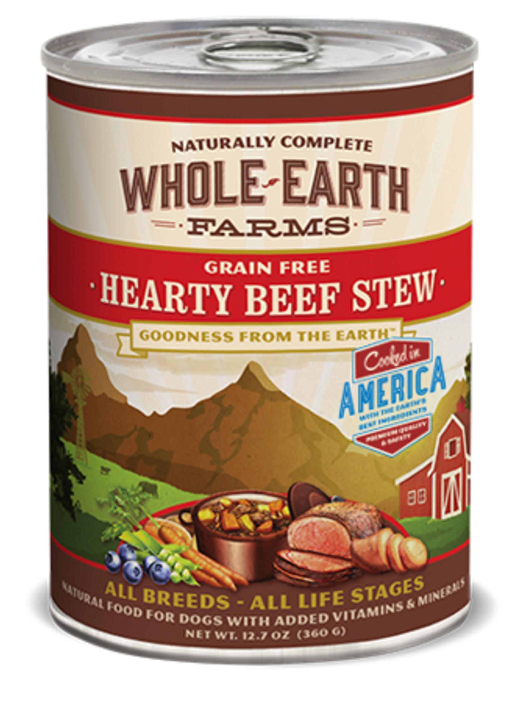 Merrick® MERRICK WHOLE EARTH FARMS GRAIN FREE HEARTY BEEF STEW RECIPE 12.7oz