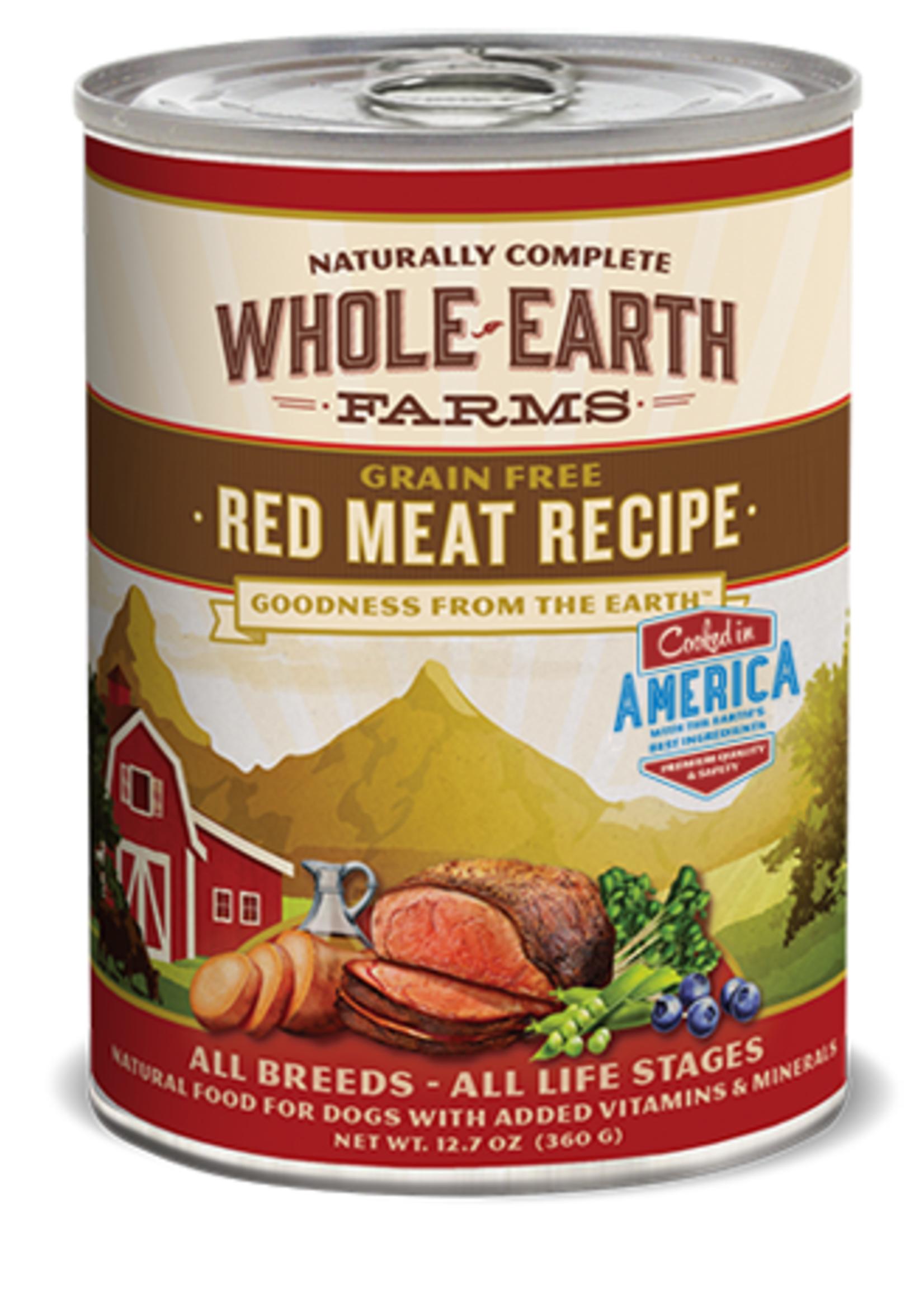 Merrick® WHOLE EARTH FARMS GRAIN FREE RED MEAT RECIPE 12.7oz