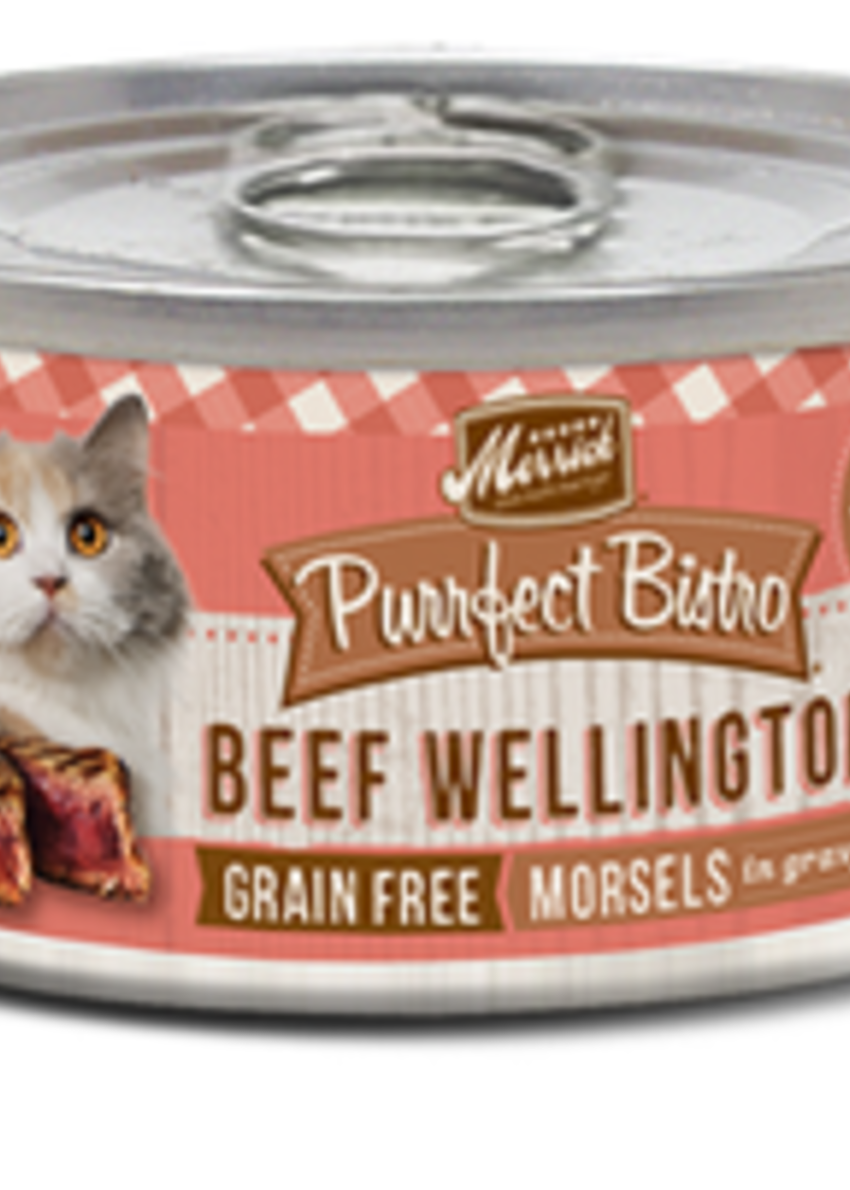 Merrick® MERRICK PURRFECT BISTRO GRAIN FREE BEEF WELLINGTON 5.5oz