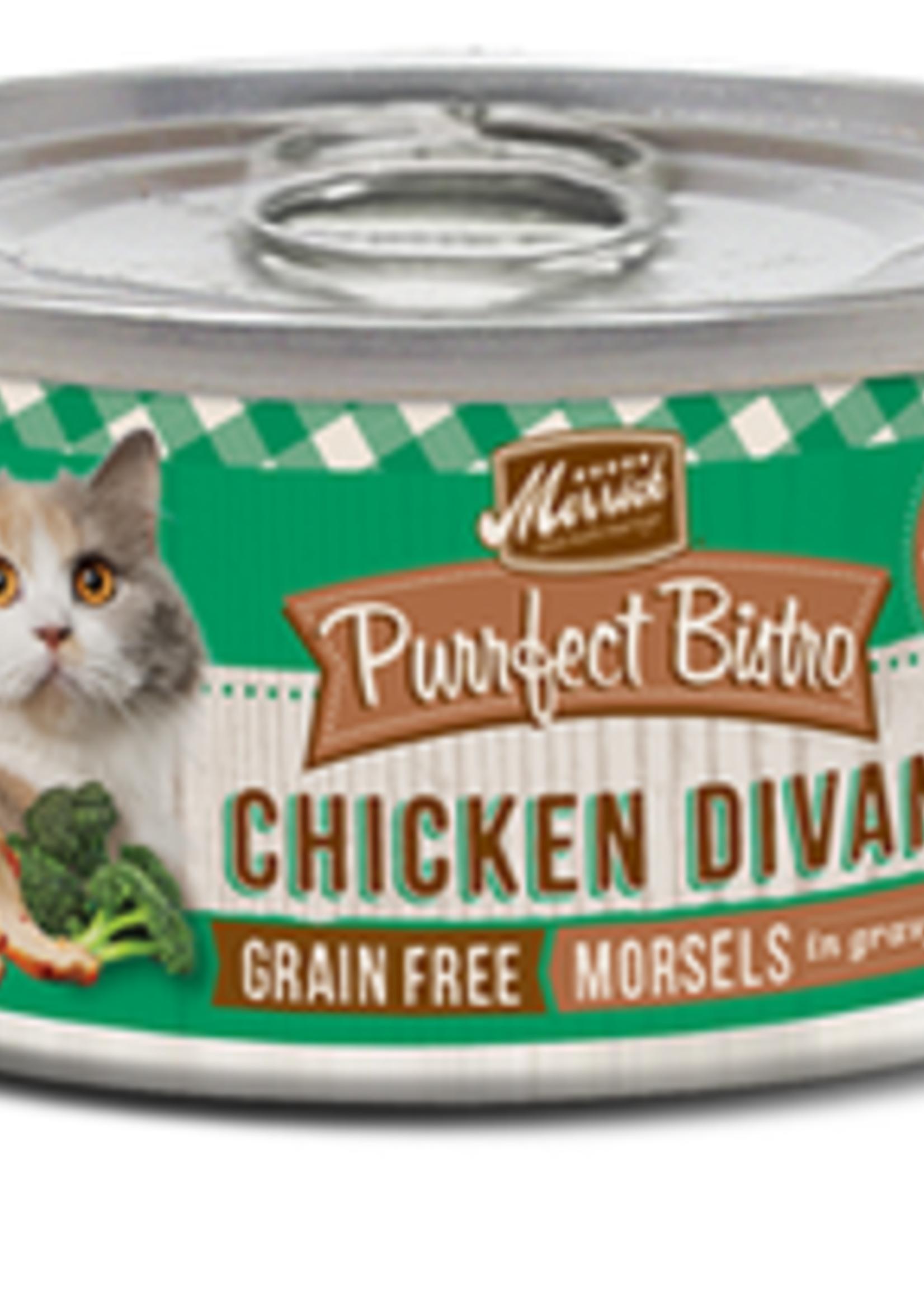 Merrick® MERRICK PURRFECT BISTRO GRAIN FREE  CHICKEN DIVAN 5.5oz