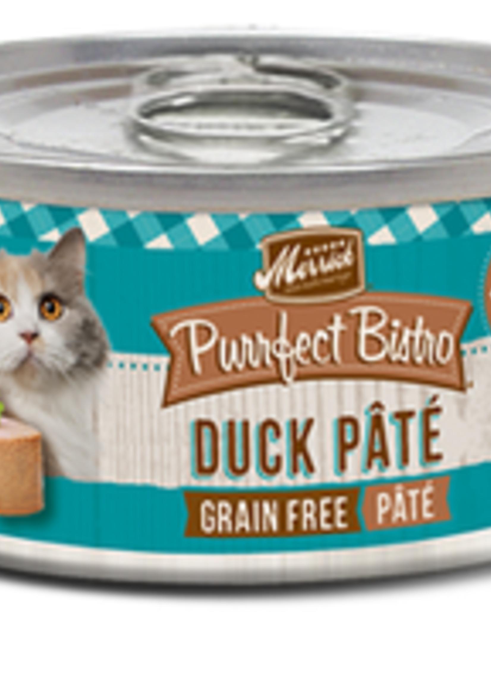 Merrick® MERRICK PURRFECT BISTRO GRAIN FREE DUCK PATE' 5.5 oz