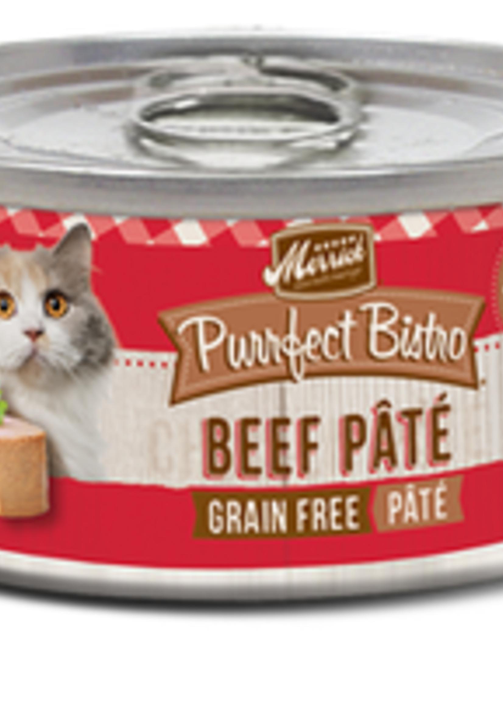 Merrick® MERRICK PURRFECT BISTRO GRAIN FREE BEEF PATE 5.5oz