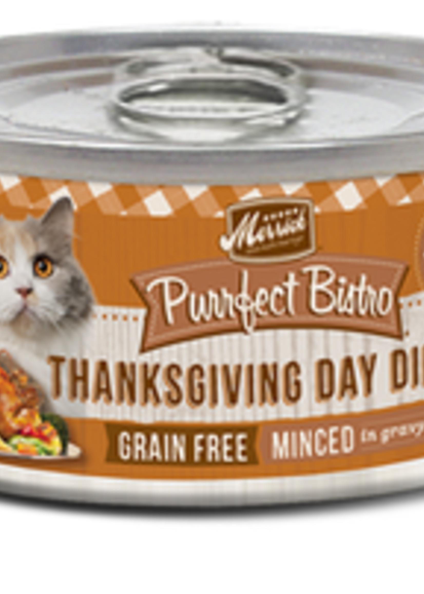 Merrick® MERRICK PURRFECT BISTRO GRAIN FREE THANKSGIVING DAY DINNER 5.5oz
