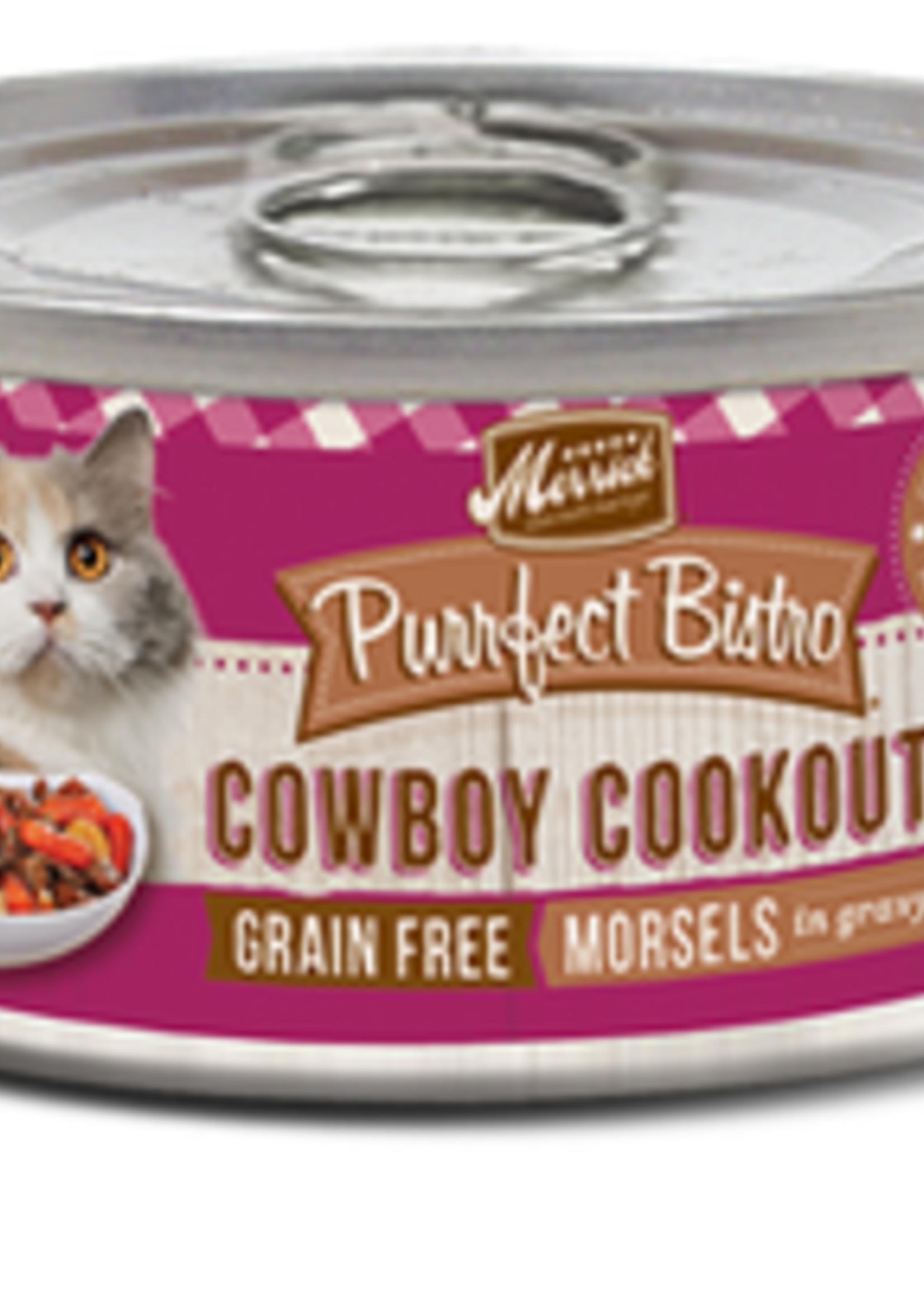 Merrick® MERRICK PURRFECT BISTRO GRAIN FREE COWBOY COOKOUT 5.5oz