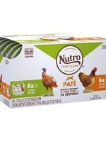 Nutro™ PERFECT PORTIONS GRAIN FREE PATE CHICKEN AND TURKEY 12x2 PACK