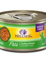 WELLNESS GRAIN FREE TURKEY PATE 5.5oz