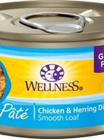 Wellness® GRAIN FREE CHICKEN AND HERRING PATE 5.5oz