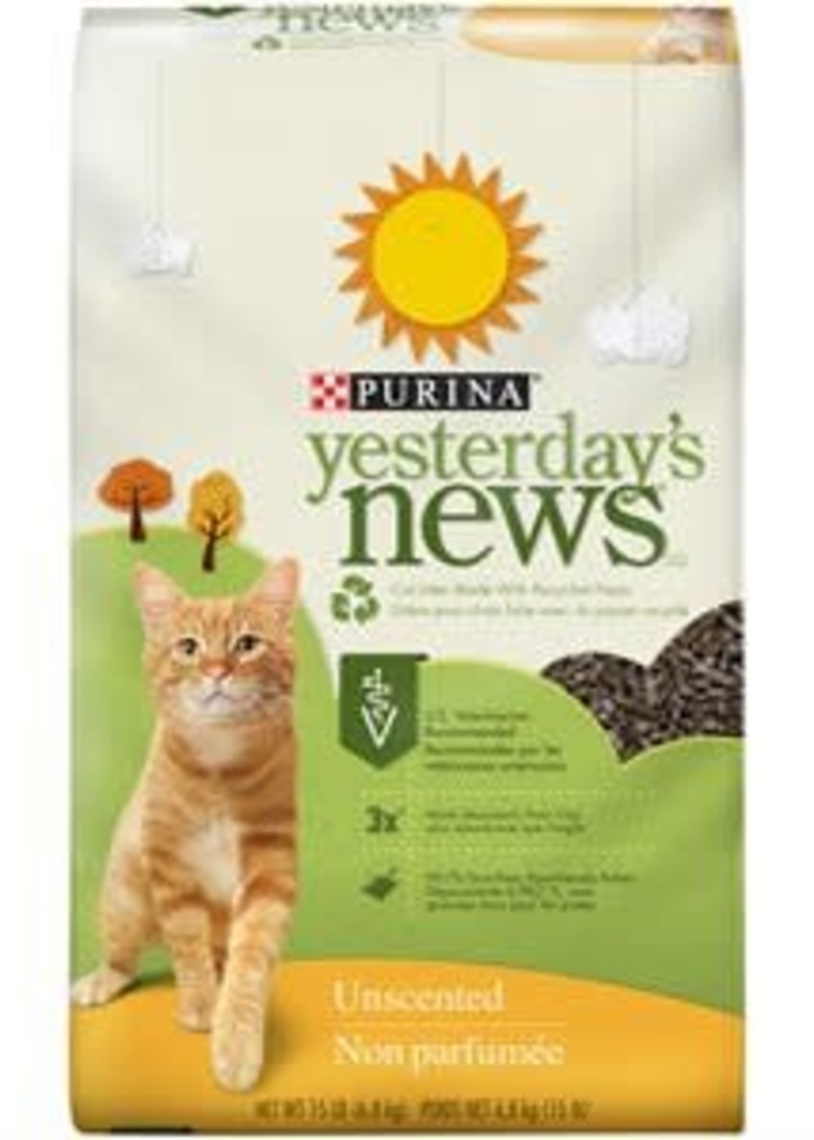 Yesterday's News® Yesterday's News Recycled Paper Litter 15lbs