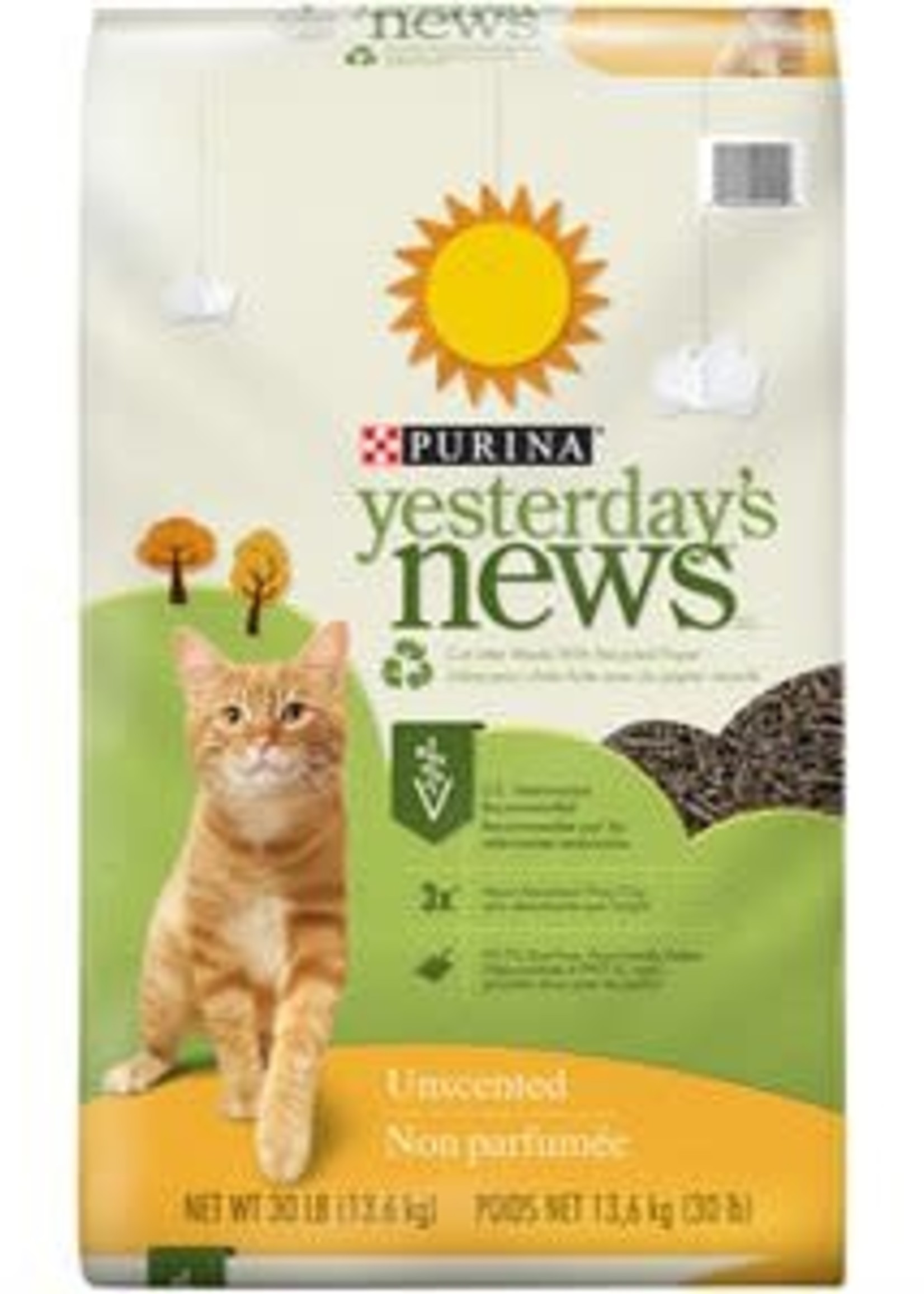 Yesterday's News® Yesterday's News Recycled Paper Litter 30lbs