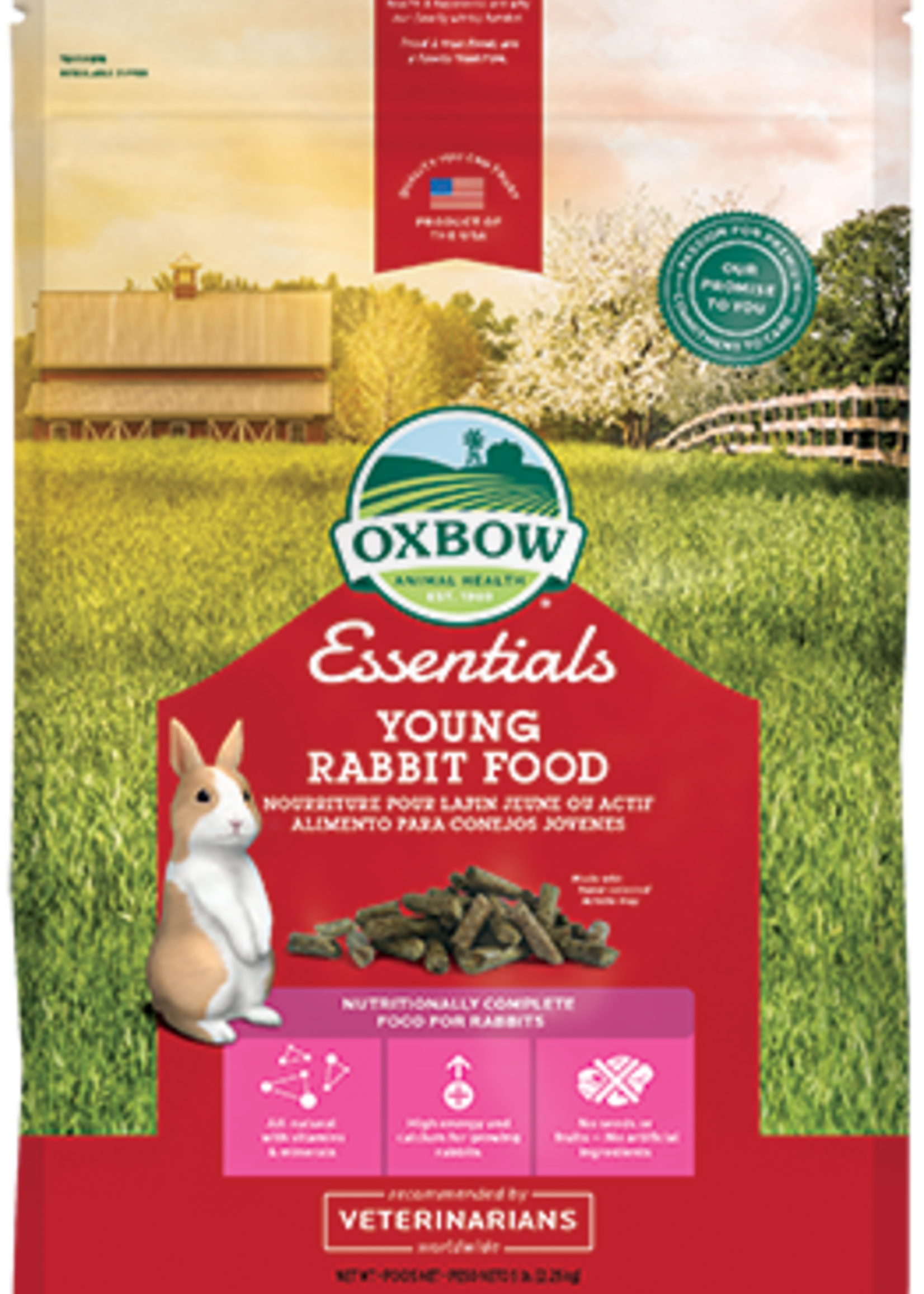 Oxbow Animal Health™ OXBOW ESSENTIALS YOUNG RABBIT 25 LB