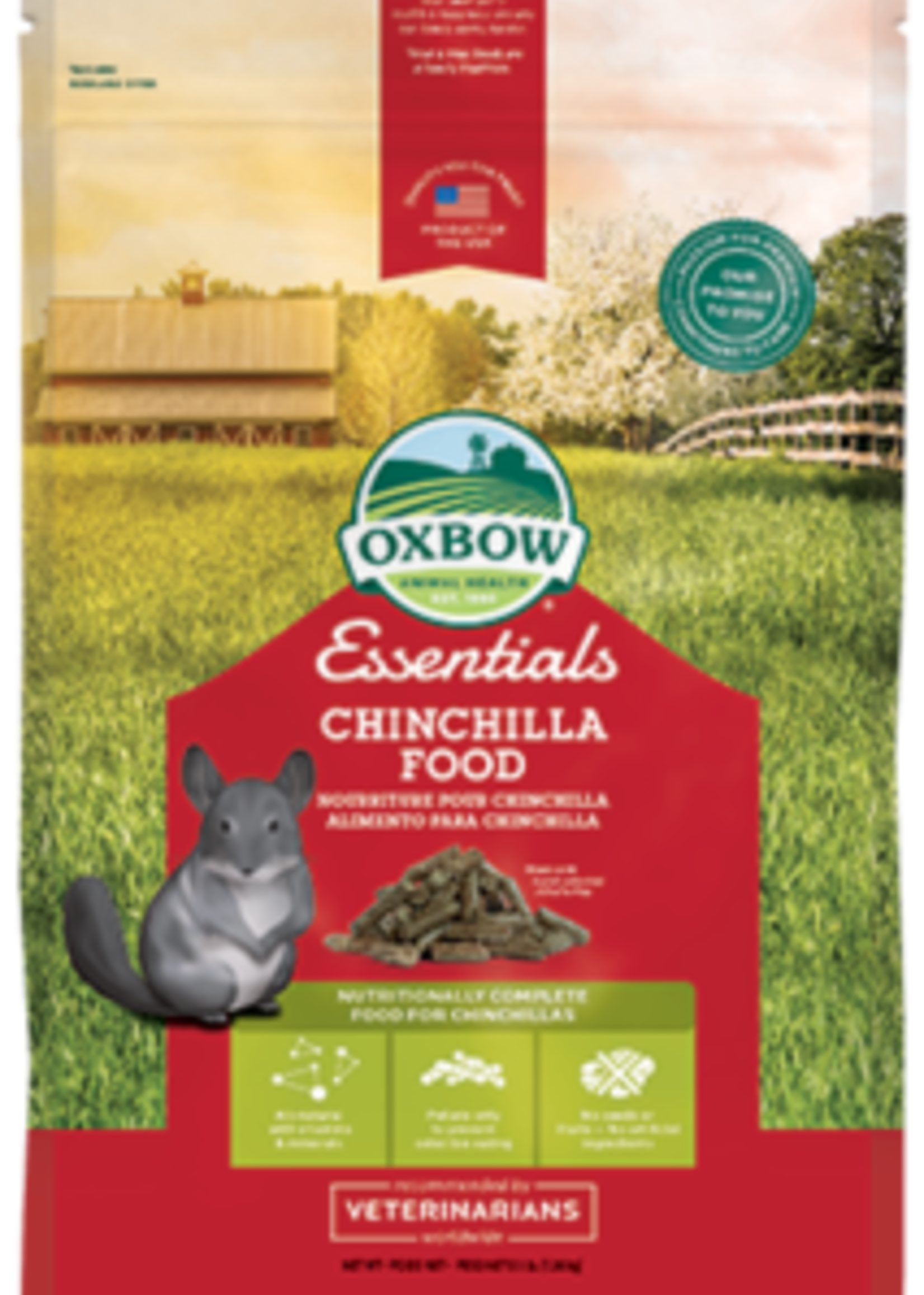 Oxbow Animal Health™ OXBOW ESSENTIALS CHINCHILLA 3lbs