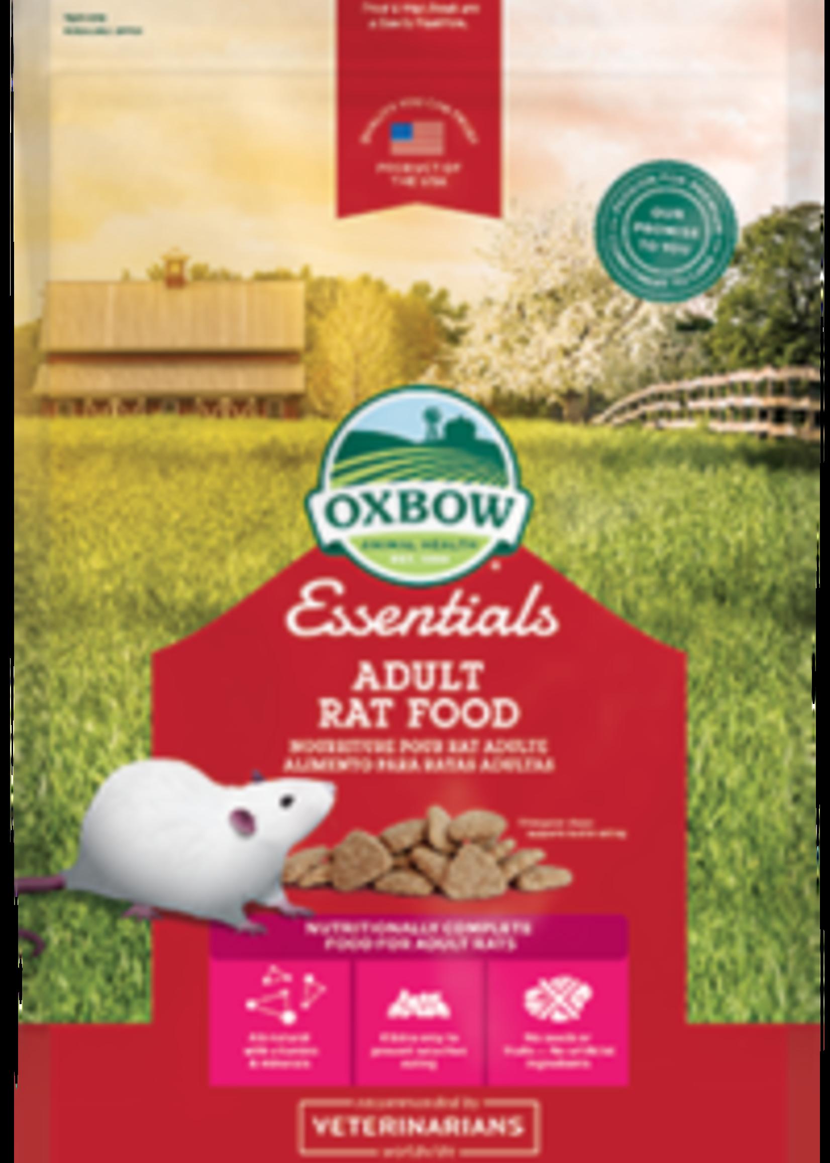 Oxbow Animal Health™ Oxbow Essentials Adult Rat Food 3lbs