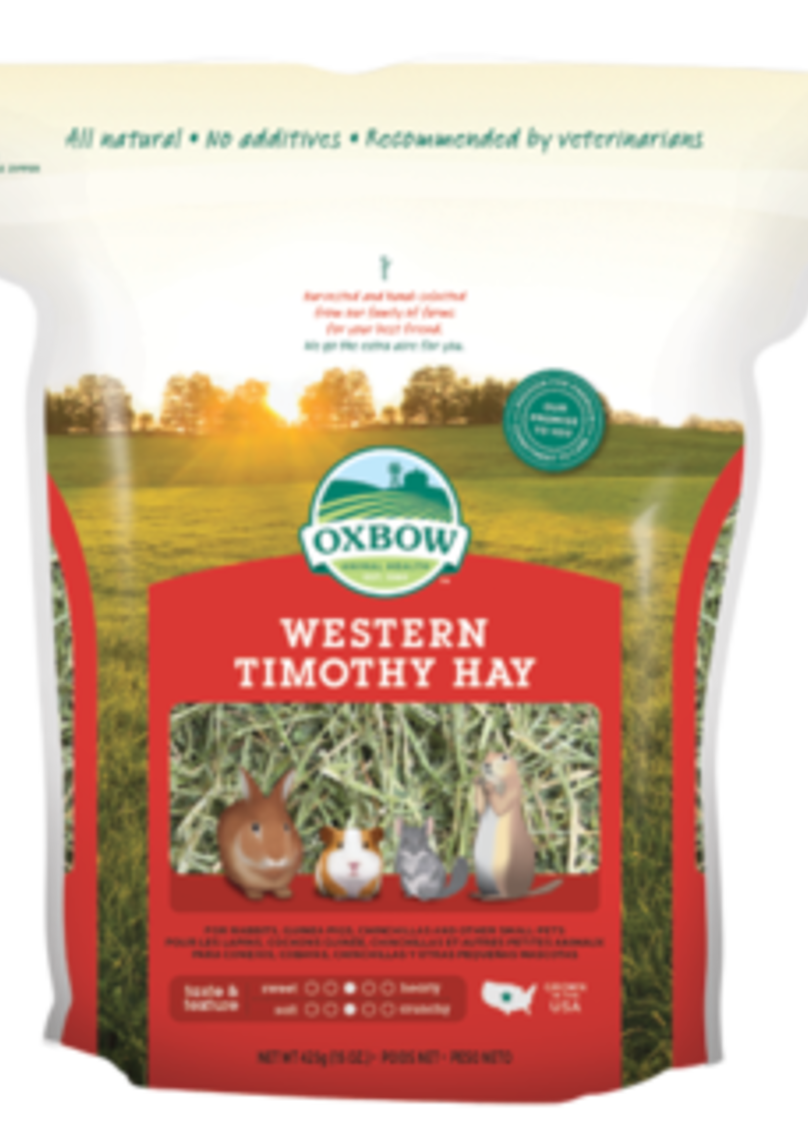 Oxbow Animal Health™ OXBOW WESTERN TIMOTHY HAY 9LB