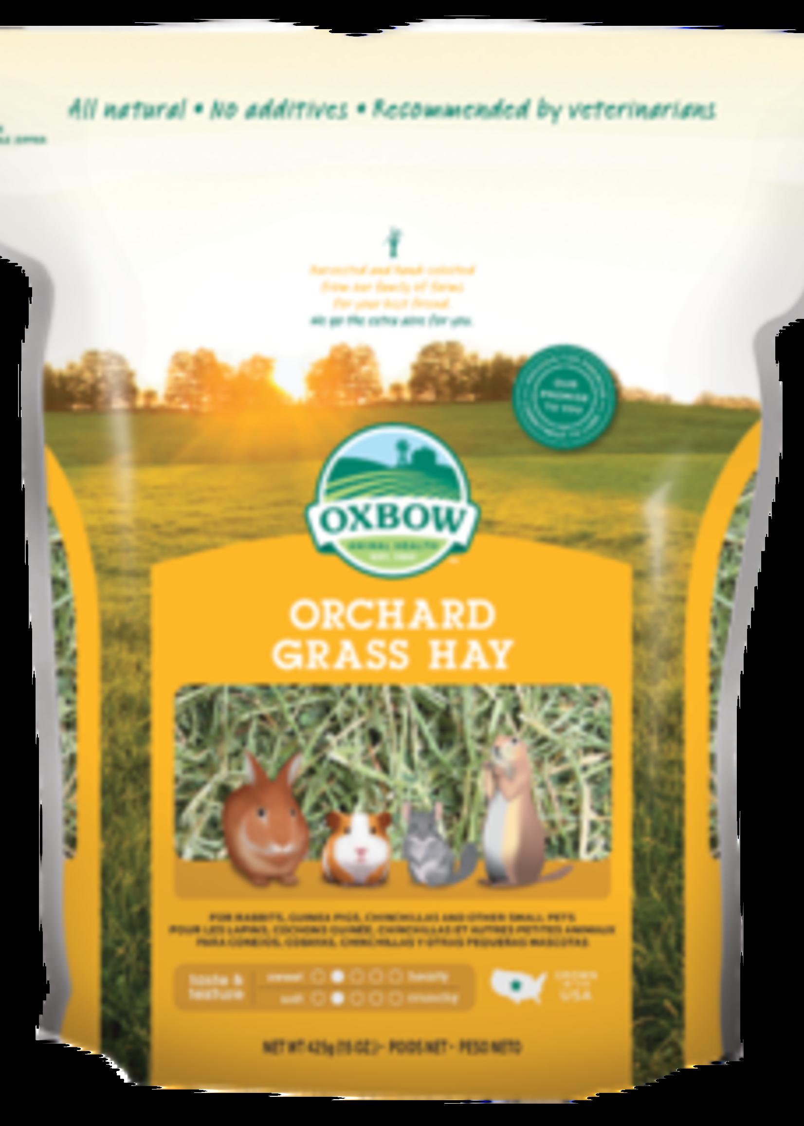 Oxbow Animal Health™ OXBOW ORCHARD GRASS HAY 15oz
