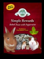 OXBOW SIMPLE REWARDS BAKED TREATS /w PEPPERMINT 2oz