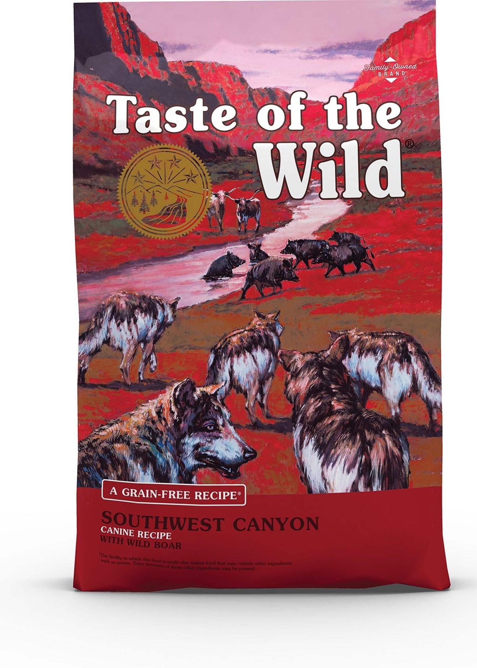 Taste of the Wild® TASTE OF THE WILD SOUTHWEST CANYON w/WILD BOAR 28lbs