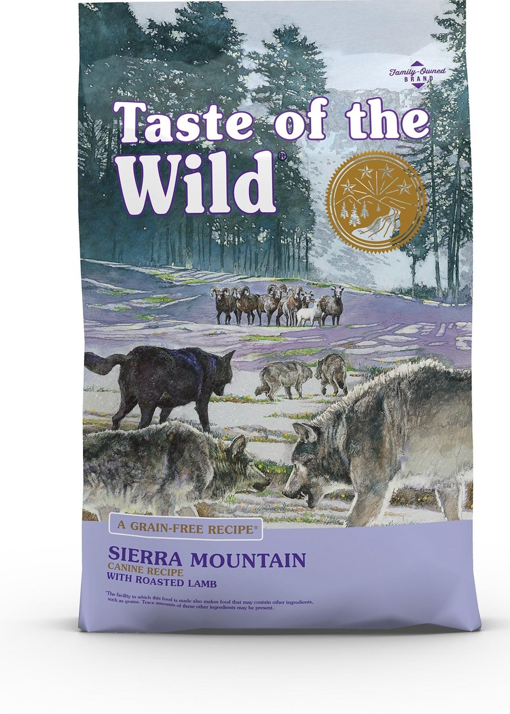 Taste of the Wild® TASTE OF THE WILD GF SIERRA MOUNTAIN RECIPE w/ROASTED LAMB 28lbs