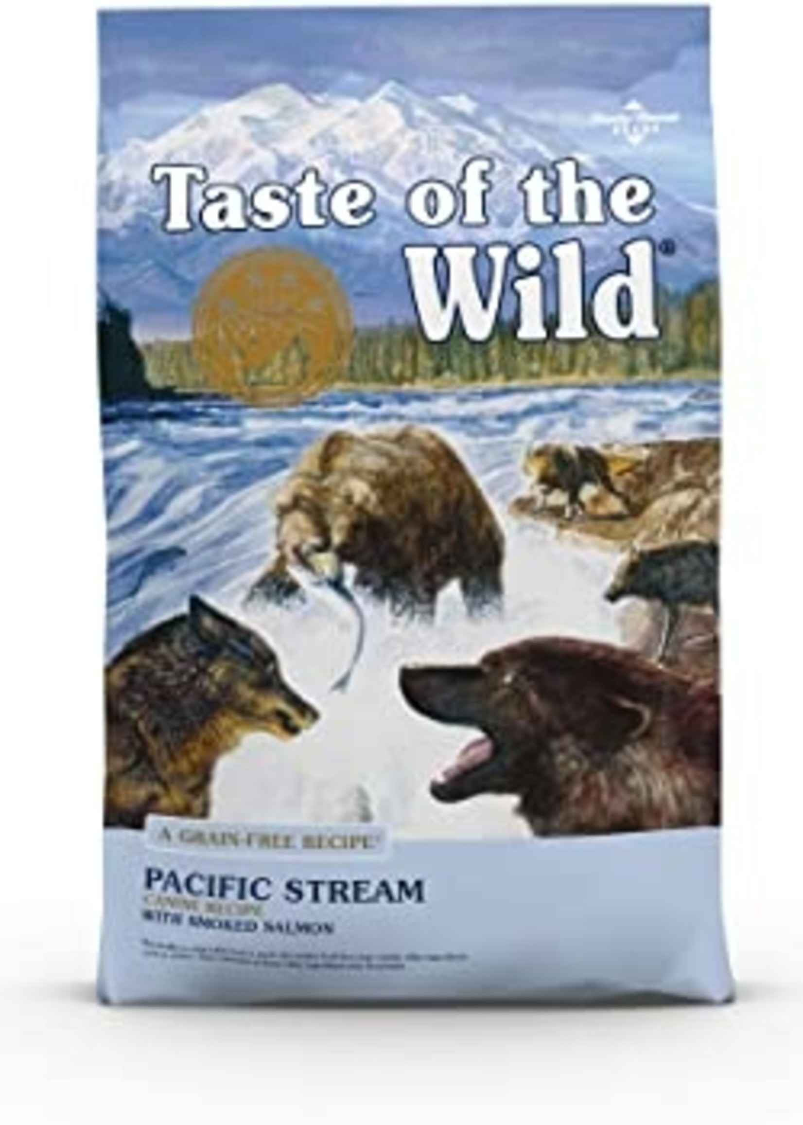 Taste of the Wild® TASTE OF THE WILD GF PACIFIC STREAM RECIPE w/SMOKED SALMON 28lbs