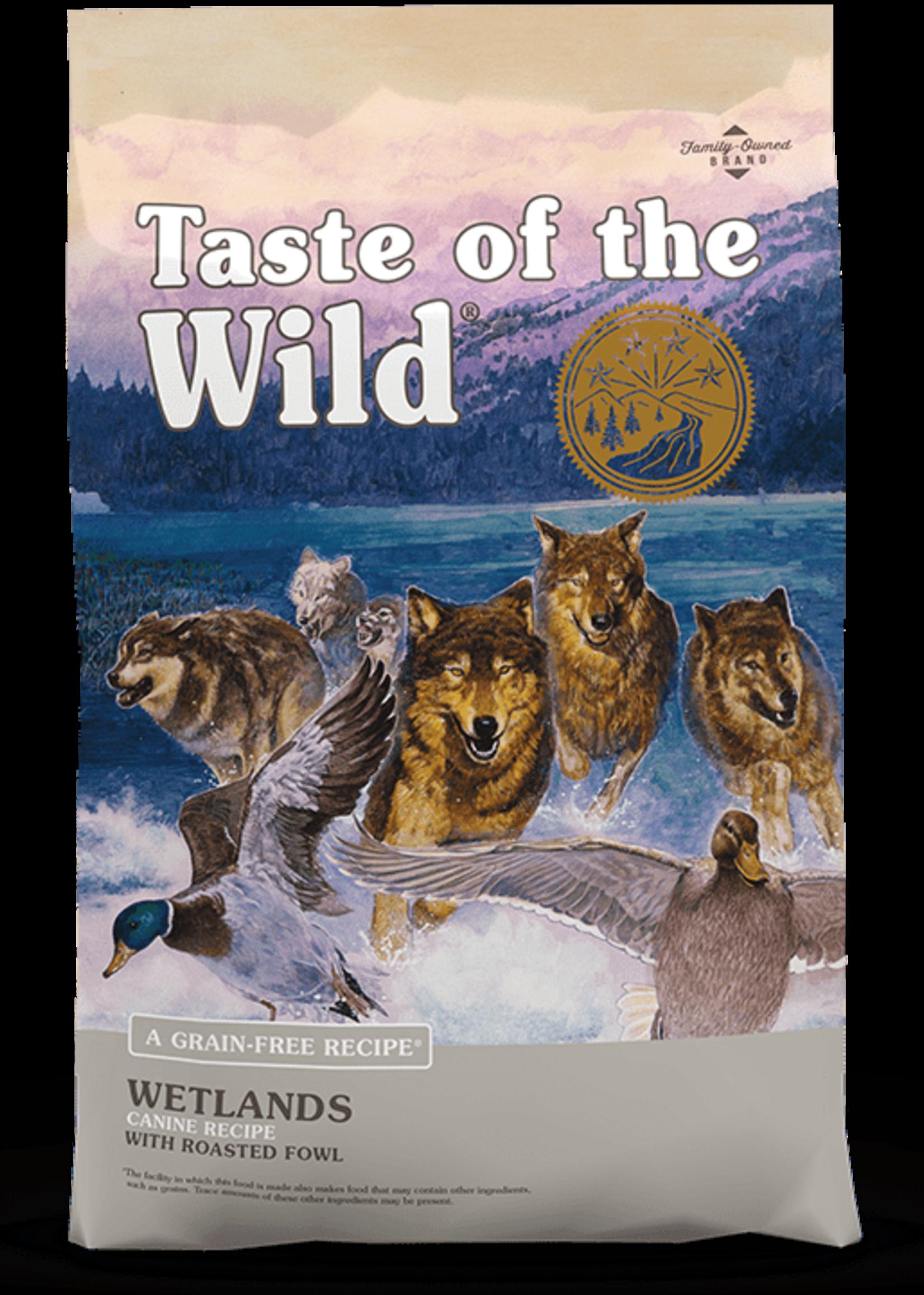 Taste of the Wild® TASTE OF THE WILD GF WETLANDS RECIPE w/ROASTED FOWL 28lbs