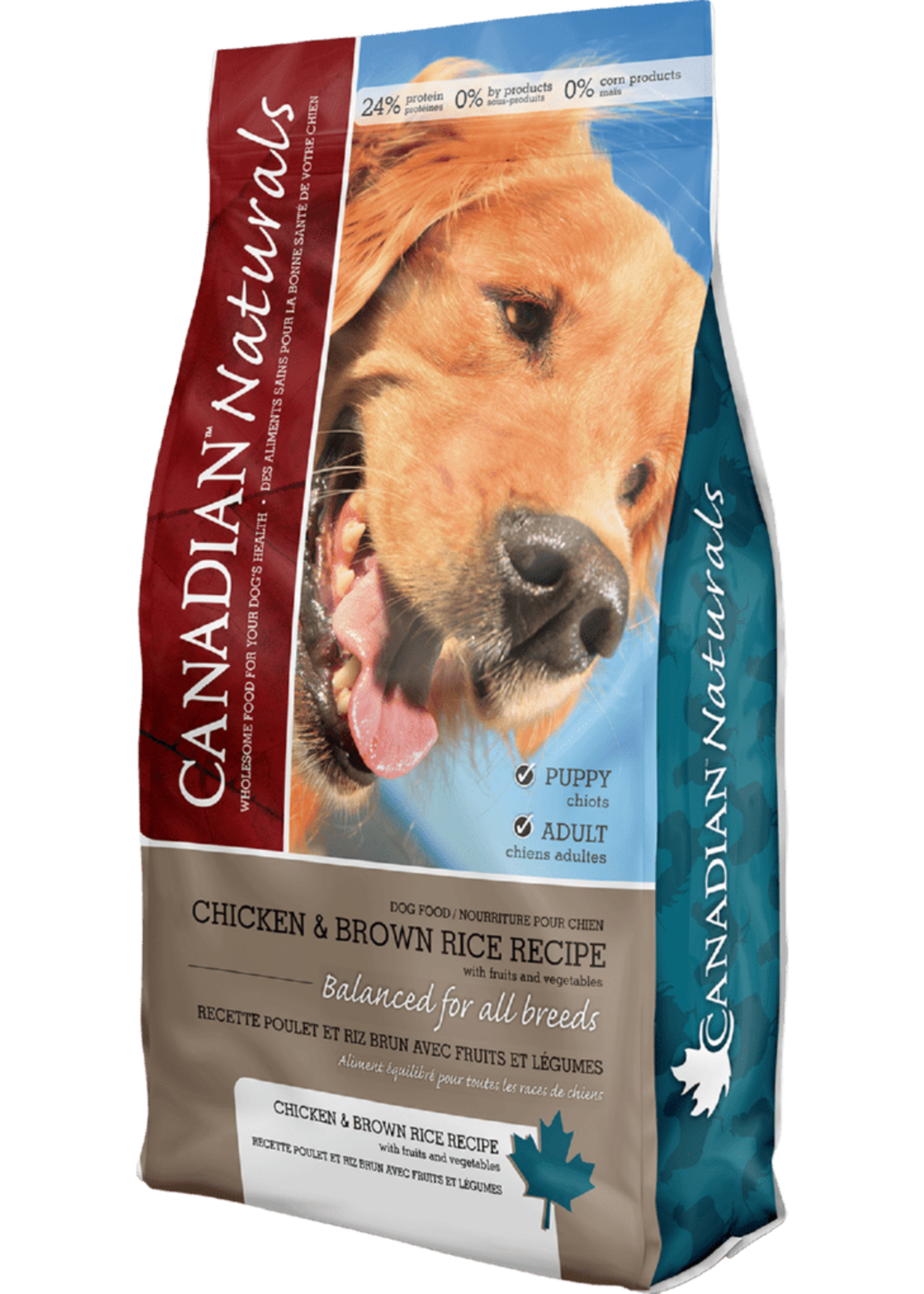 Canadian Naturals® Canadian Naturals Value Series Chicken & Brown Rice Recipe 30lbs