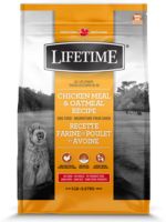 LifeTime® CHICKEN MEAL & OATMEAL 25lbs