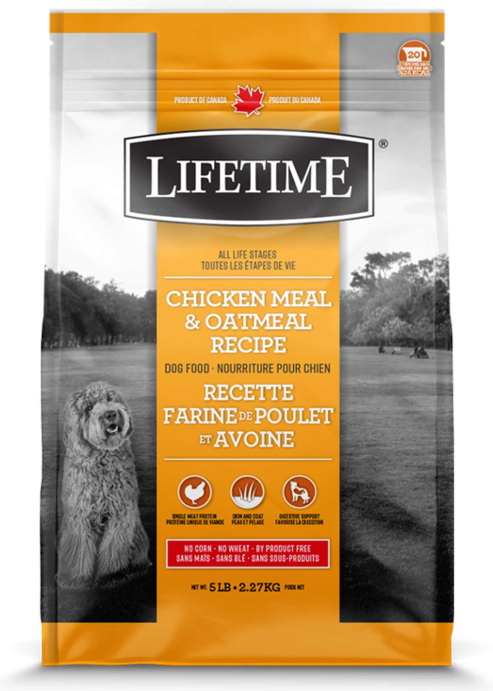 LifeTime® LifeTime® Chicken Meal & Oatmeal Recipe 25lbs