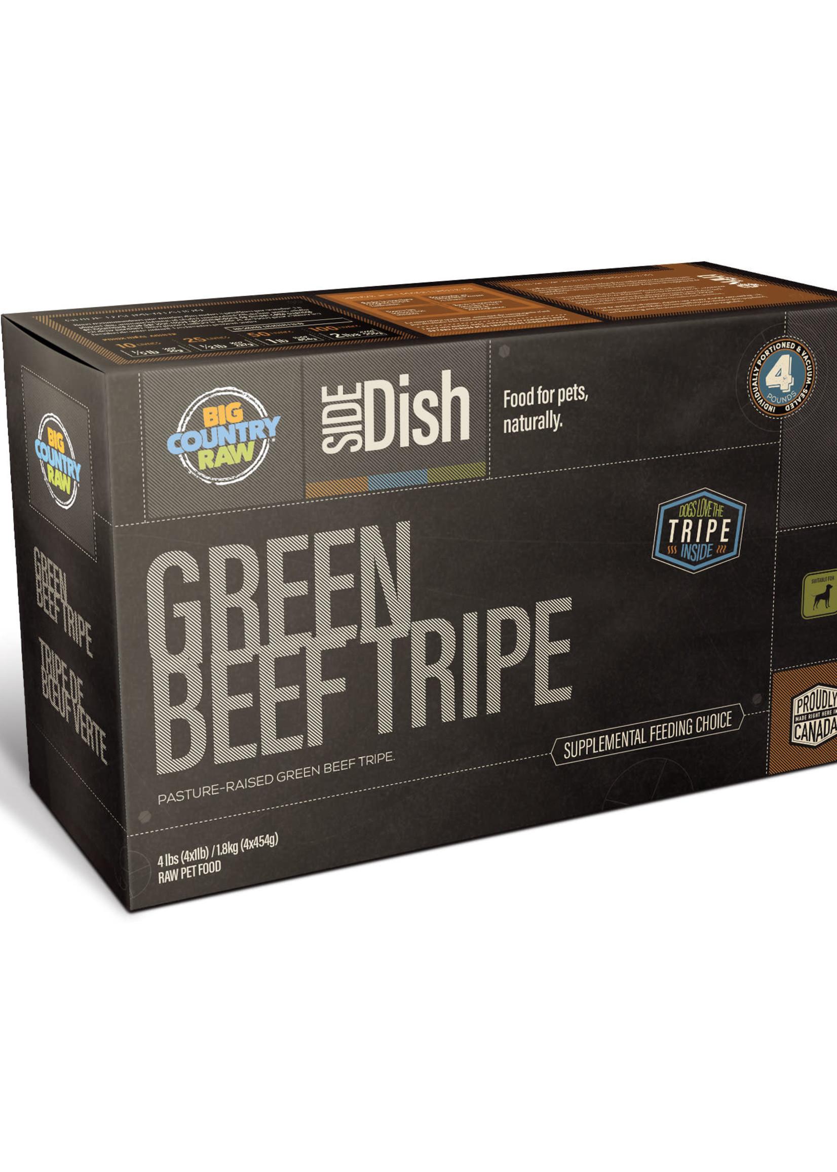 Big Country Raw Big Country Raw Green Beef Tripe 4x1lb