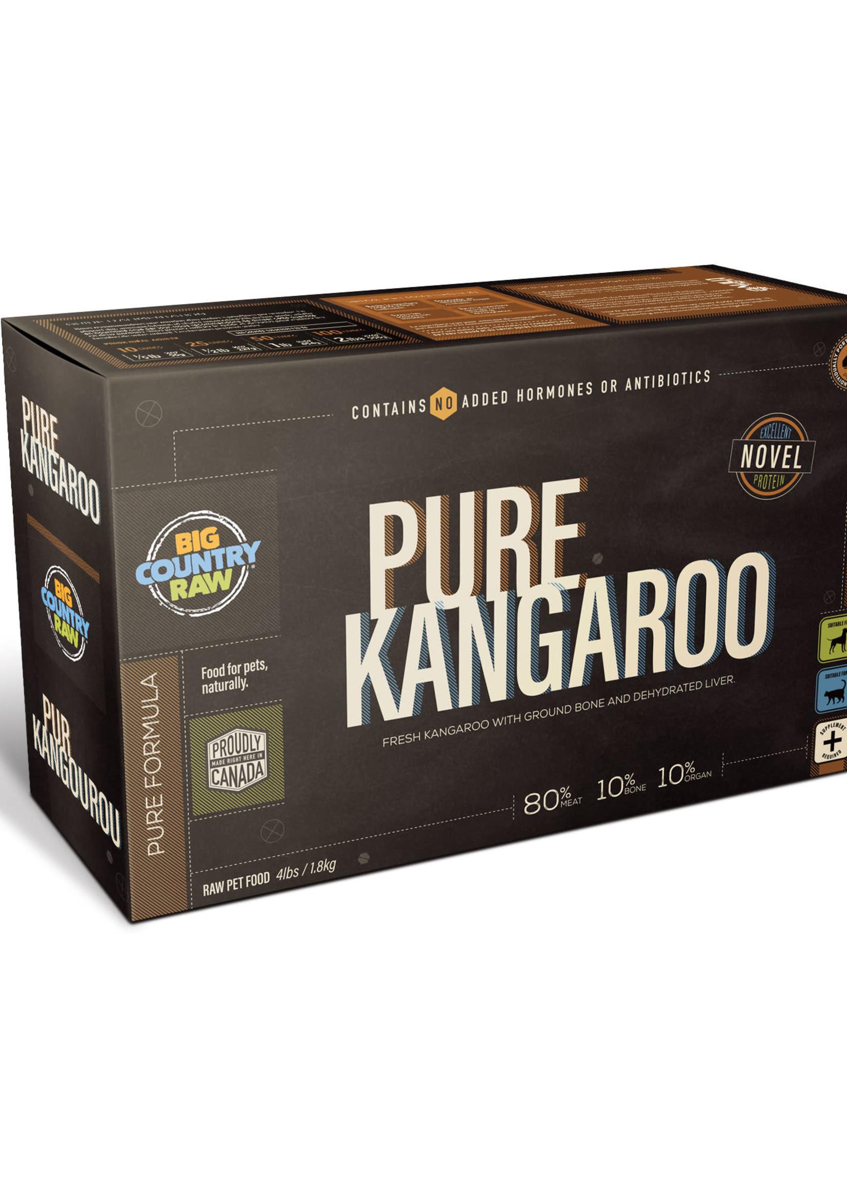 Big Country Raw Big Country Raw Pure Kangaroo 4x1lb